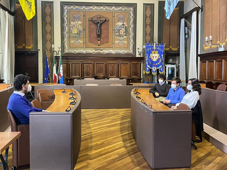 Rapallo: politiche giovanili, Trucco incontra gli studenti