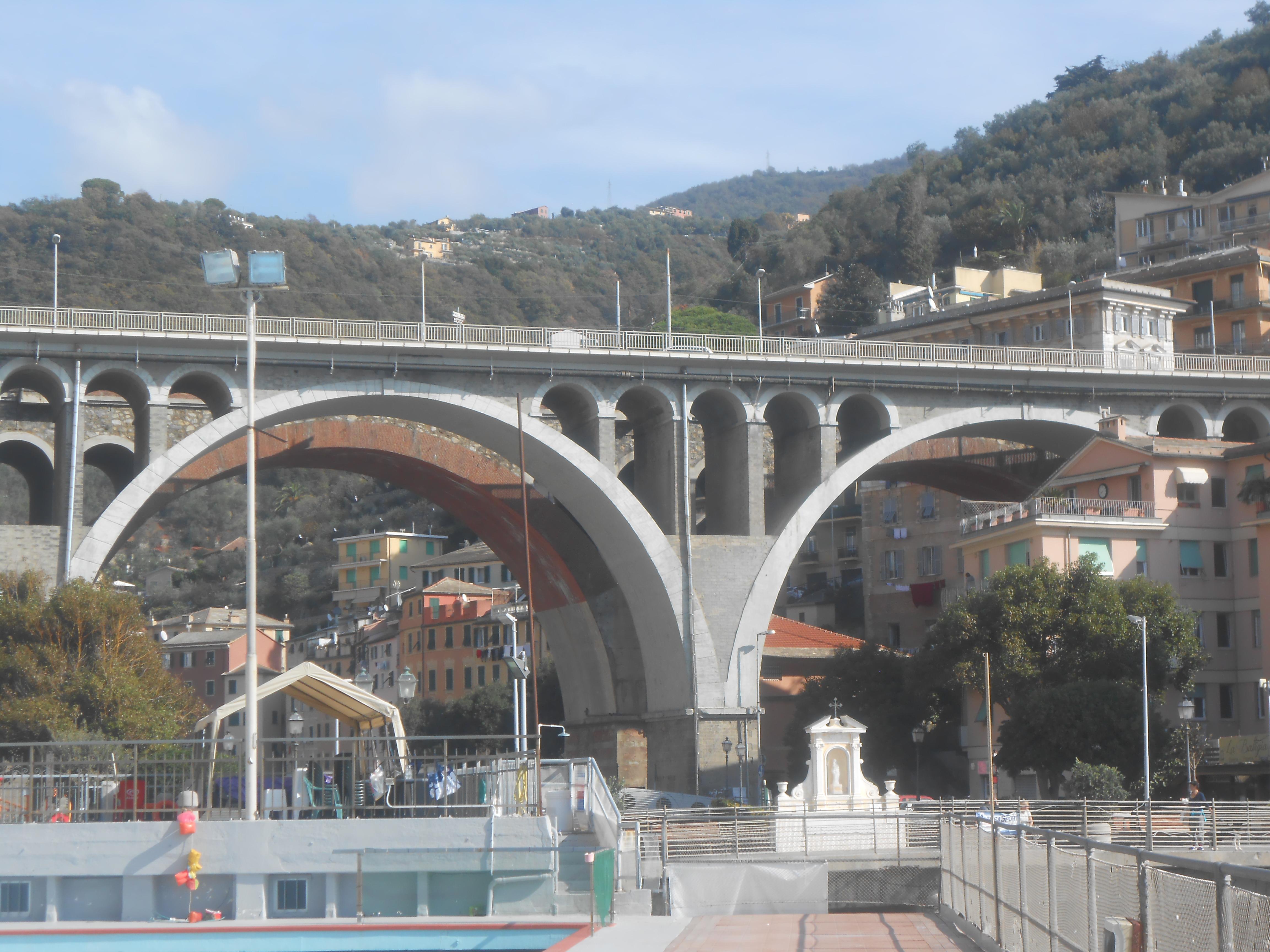 Sori: Aurelia, senso alternato (e code) sul ponte fino a luglio