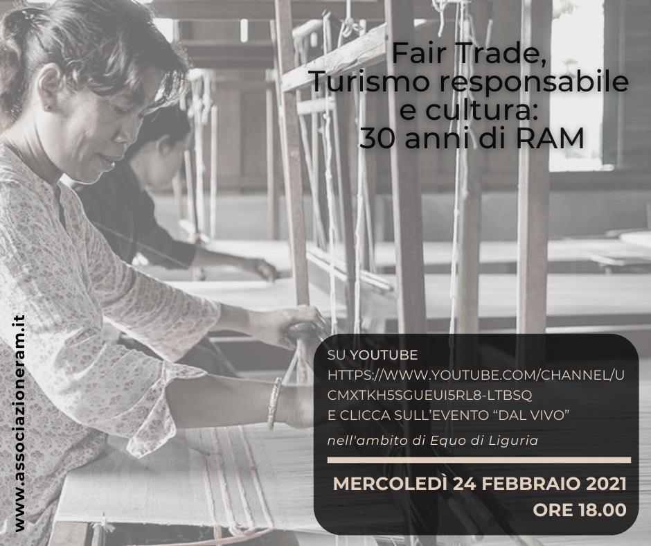 """Camogli: online """"Turismo responsabile e cultura: 30 anni di Ram"""""""