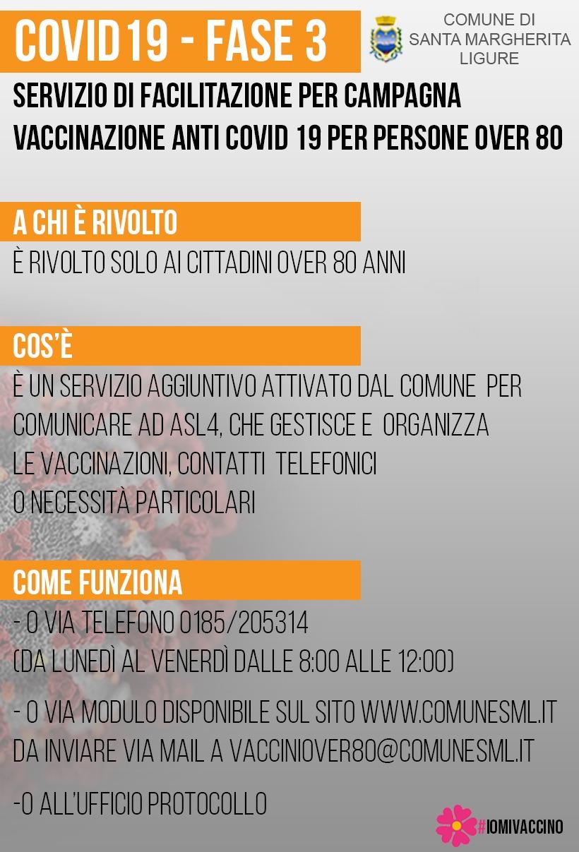 'Santa': vaccini, il Comune facilitatore per contatti dei cittadini con Asl4