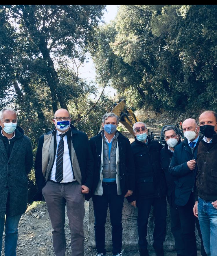 Chiavari: via ai lavori sul sentiero dei Pellegrini