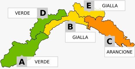 Allerta arancione a est di Portofino; gialla nel Golfo Paradiso