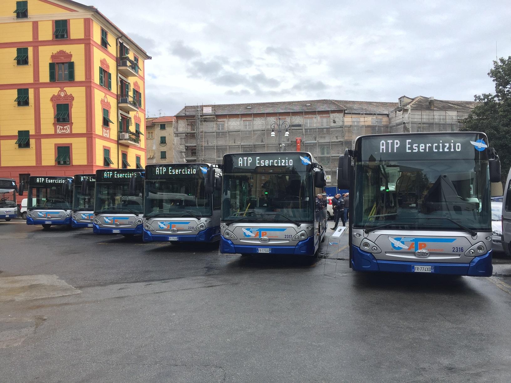 Rapallo: linee bus sospese per asfalti in via Canale