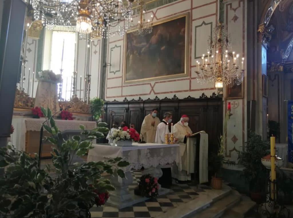 Recco: l'arcivescovo Marco Tasca, uno di famiglia (2)