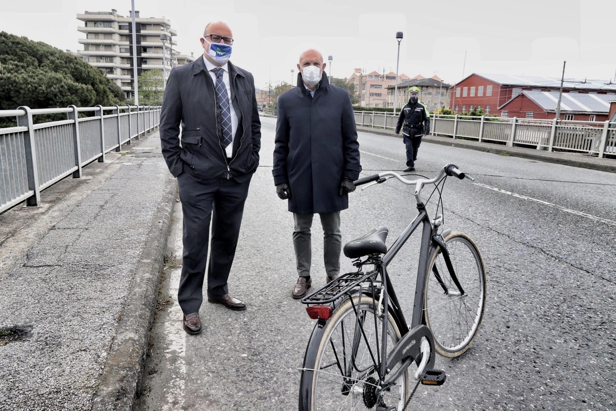 Chiavari e Lavagna: ciclovie, dalla Città metropolitana 1 milione e mezzo