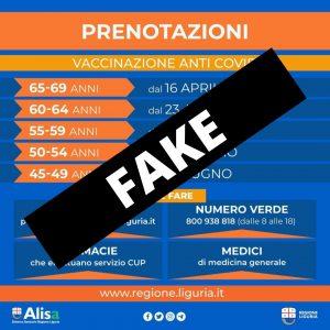 """Vaccinazioni: grafica """"fake"""" diffusa sui social"""