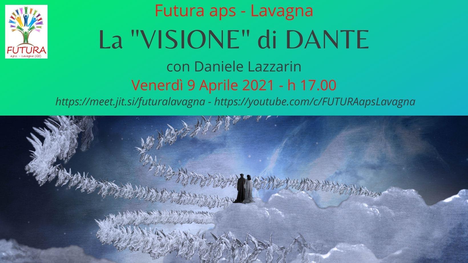 Lavagna: venerdì appuntamento in streaming con Dante