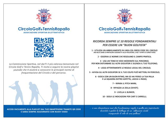 Rapallo: Circolo Golf, ecco i video per aprire i neofiti alla vita del club