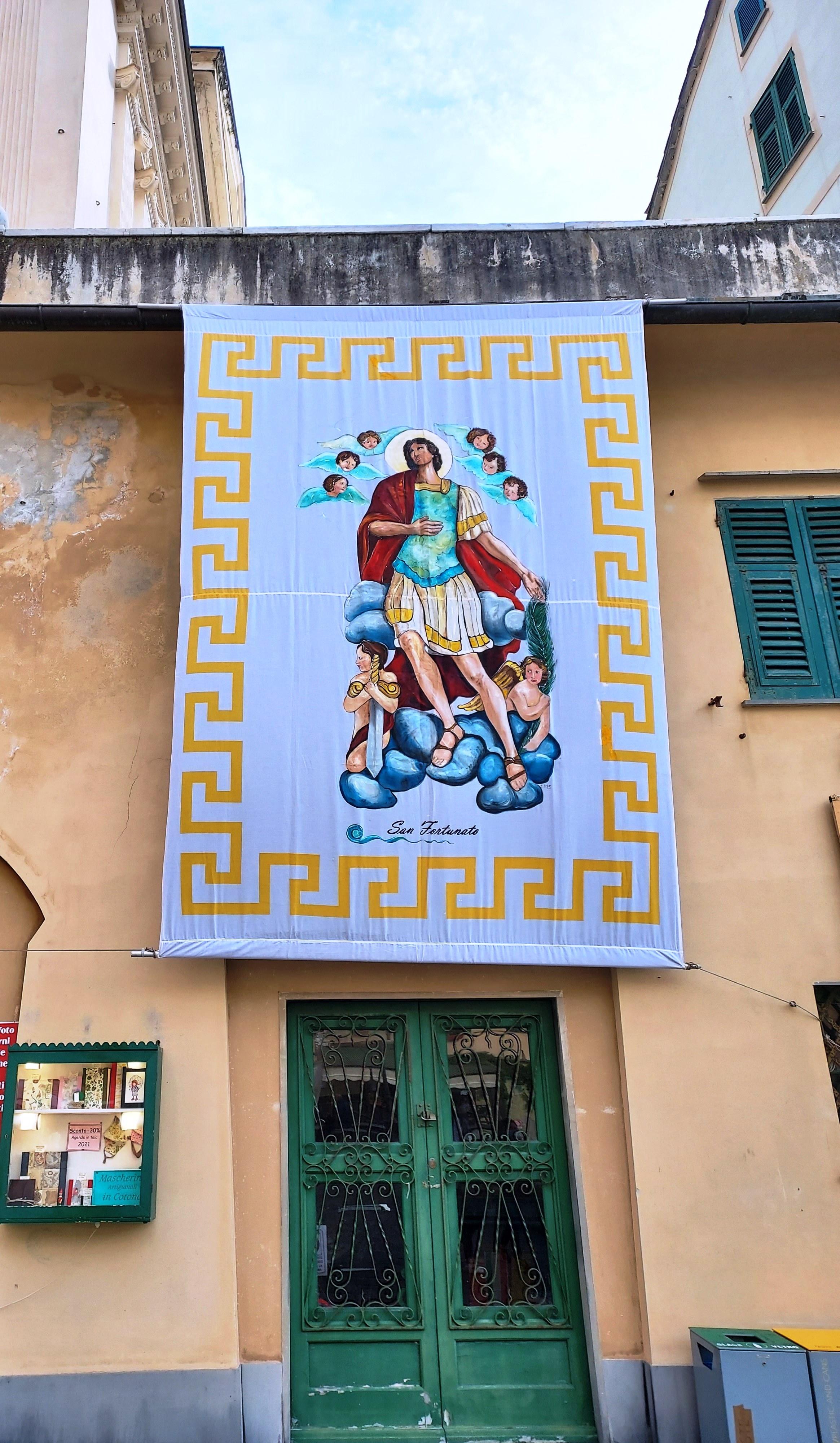 Camogli non rinuncia alle tradizioni e ricorda il patrono San Fortunato
