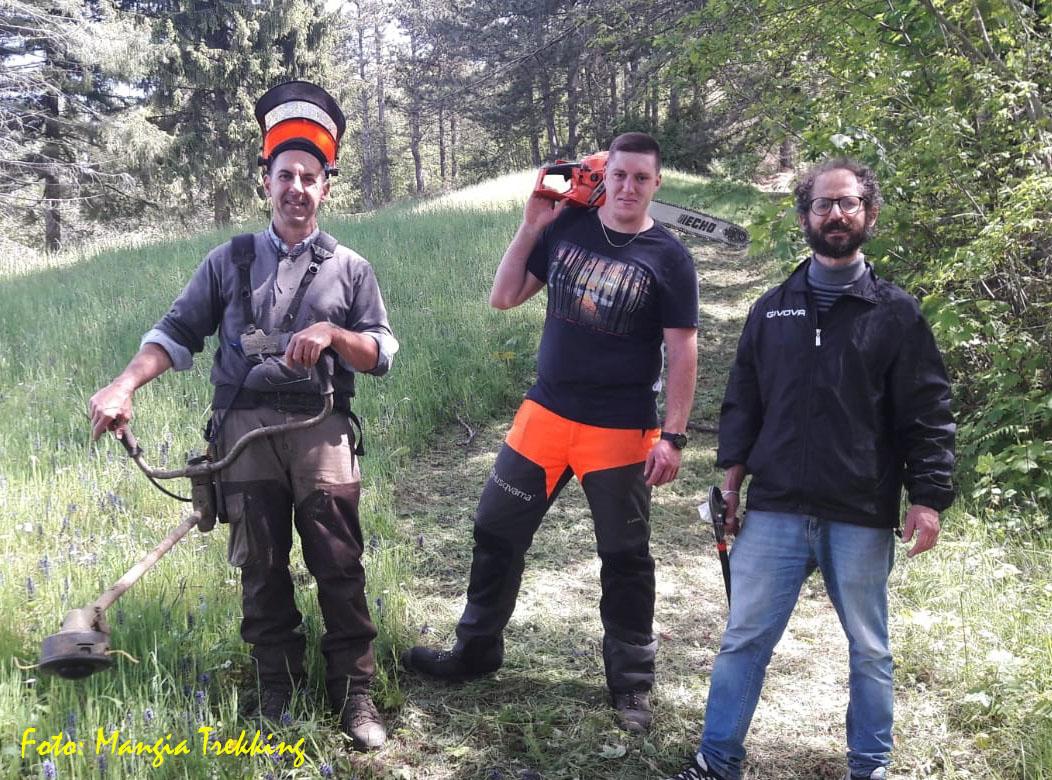 Varese Ligure: lavoro di manutenzione e recupero dei sentieri