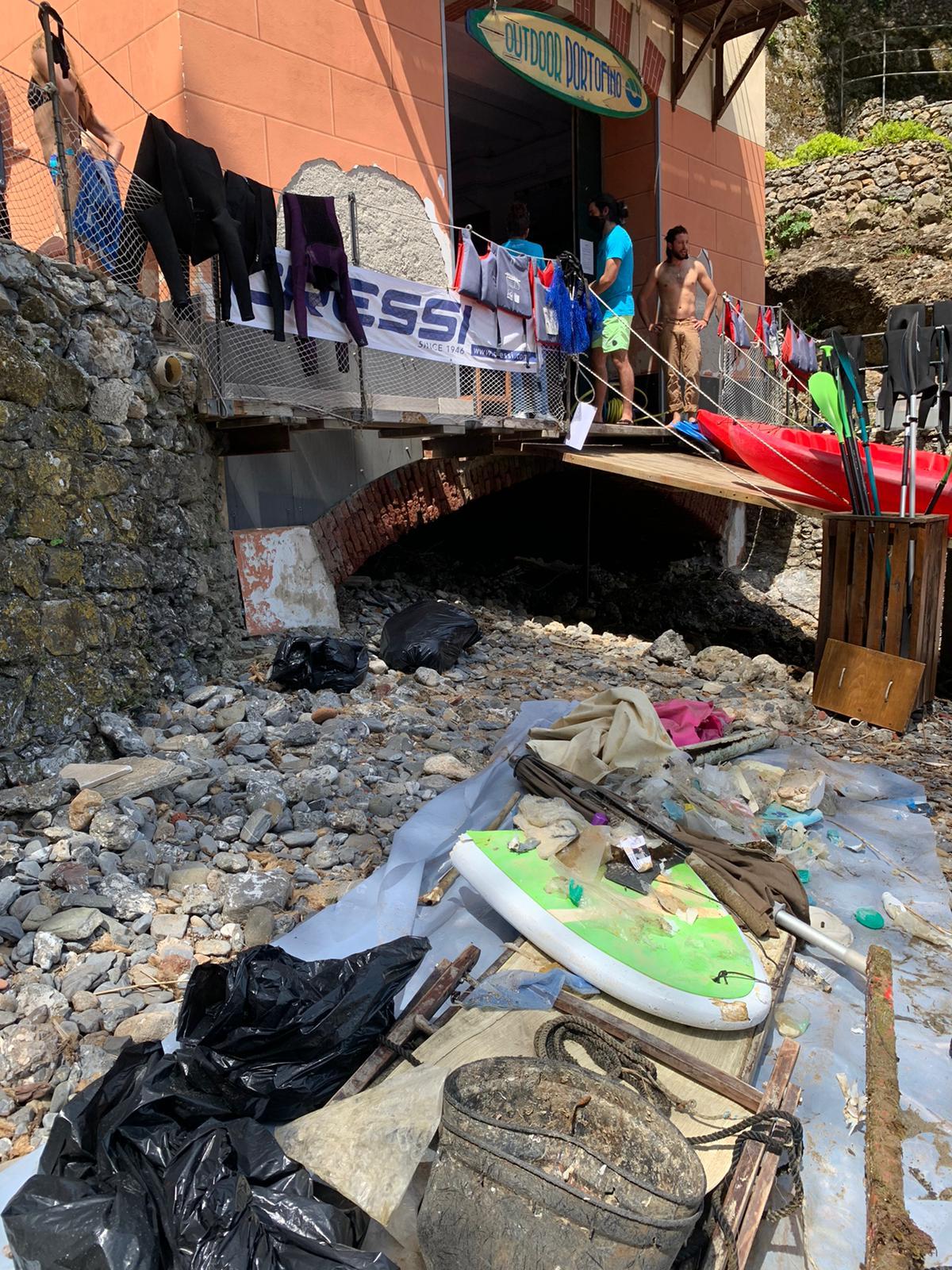 Portofino Cleanup Day: video e foto