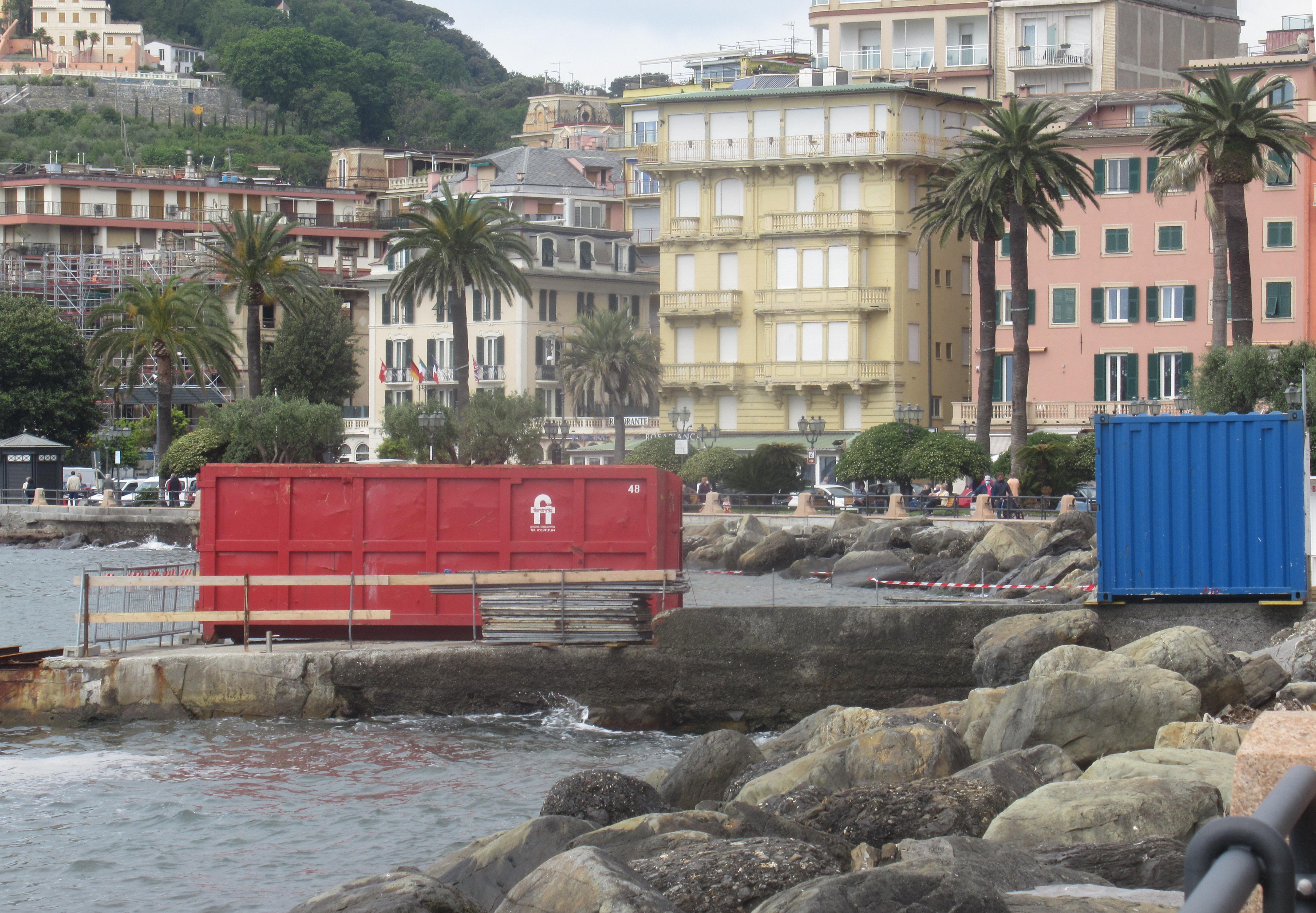 Rapallo: cantiere battelli turistici, ancora fermo