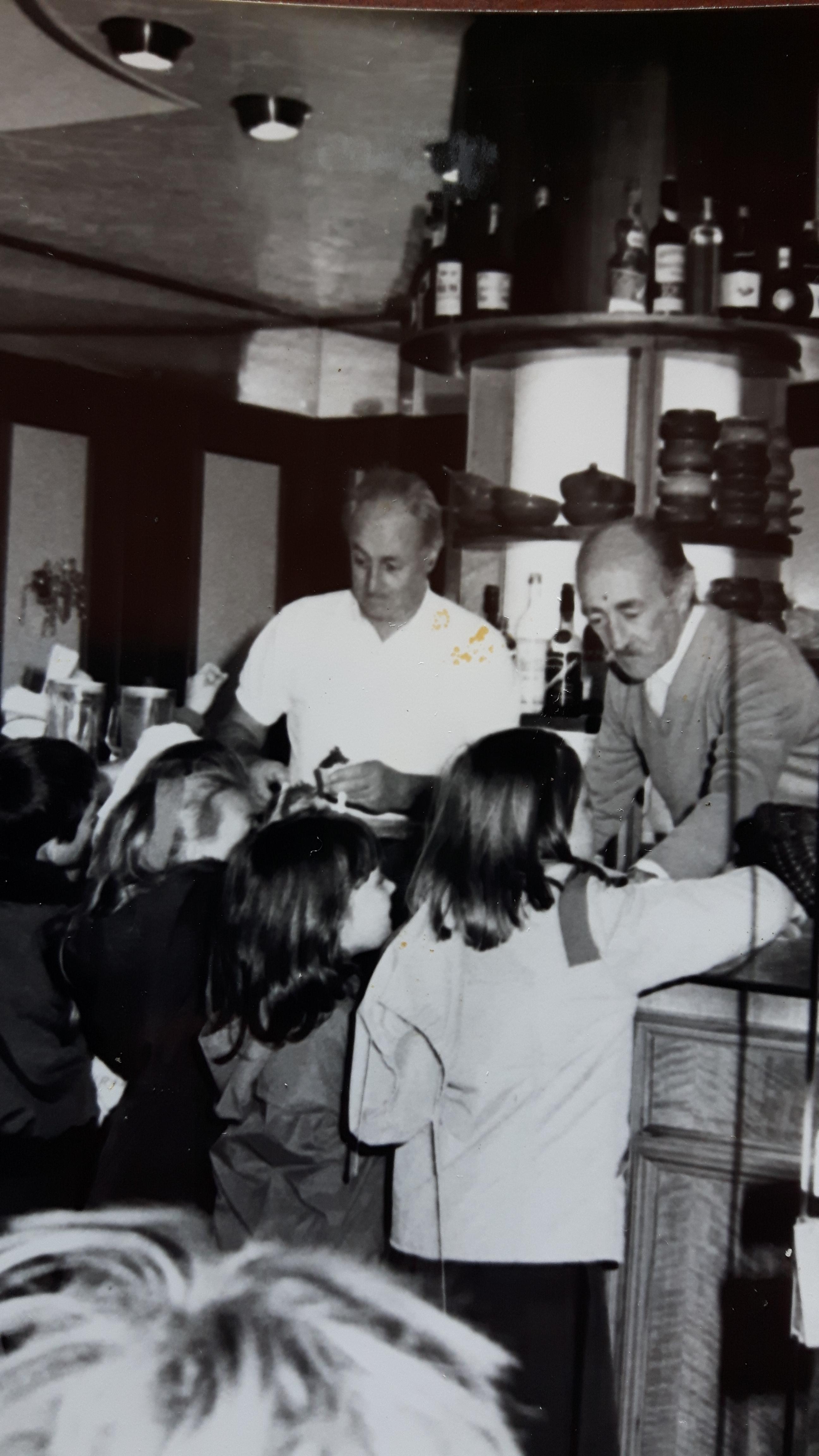 Recco: i 50 anni della gelateria di Francesco e Paolo Cavassa
