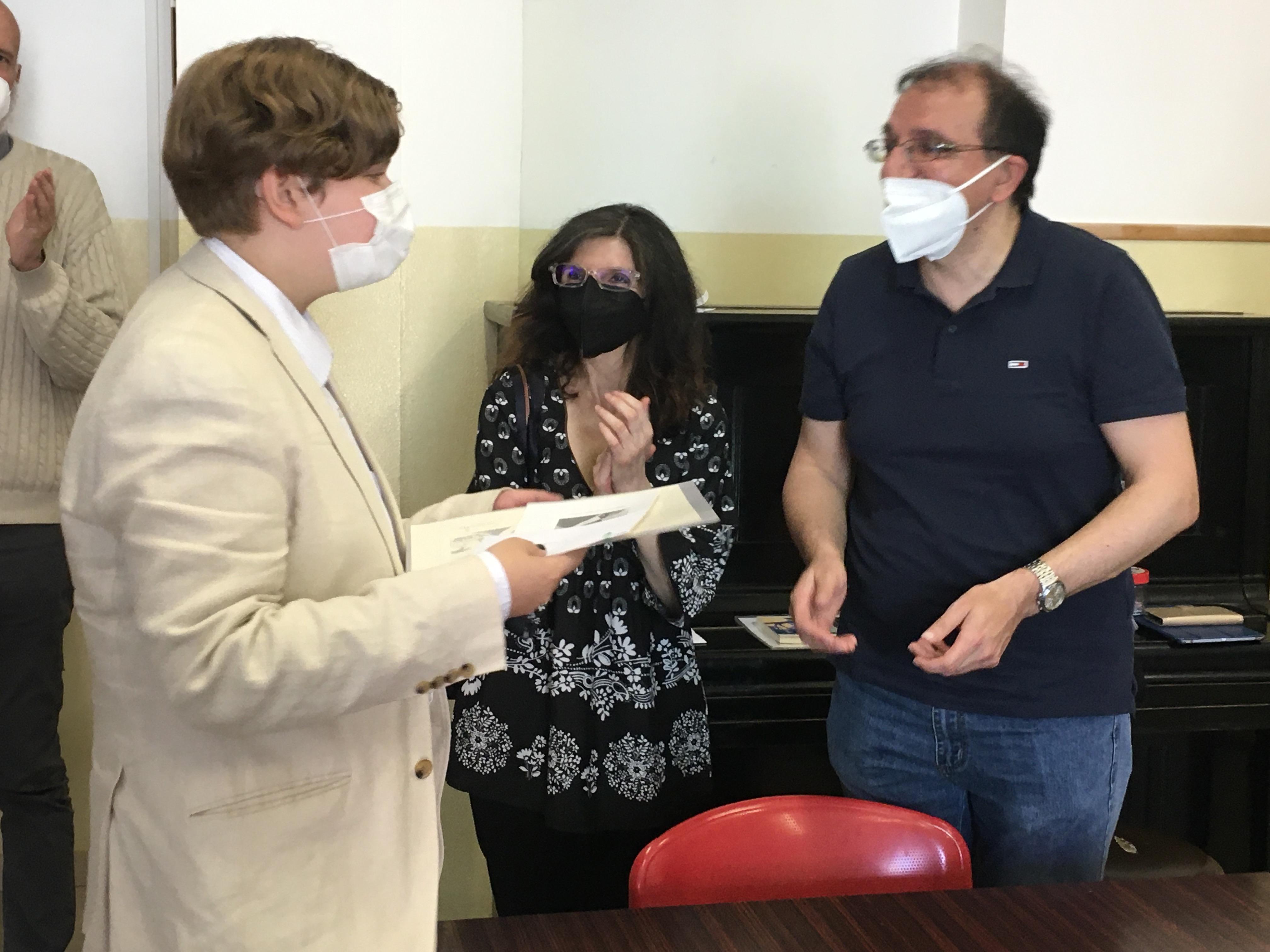 Rapallo: studenti premiati dai discendenti di Ottavio Ferraretto
